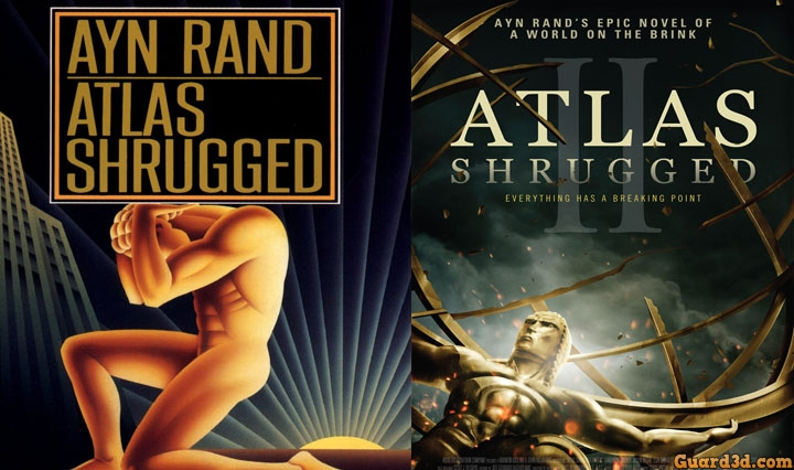 کتاب Ayn Rand Atlas Shrugged