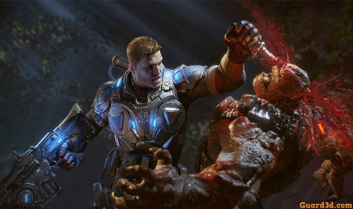 بنچمارک بازی Gears of War 4