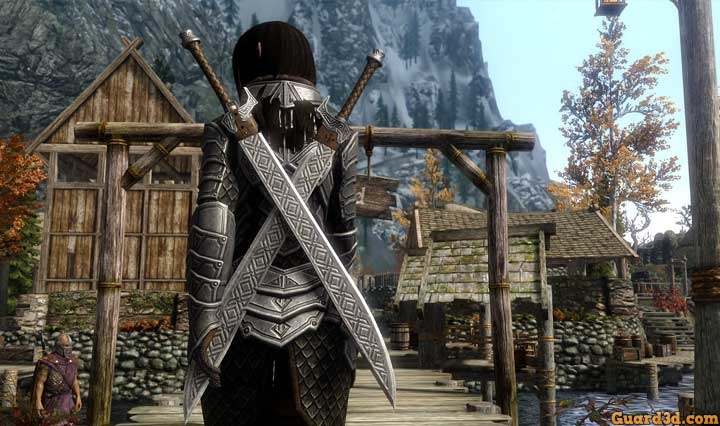 اُفقی درخشان به نام The Elder Scrolls V Skyrim Remaster