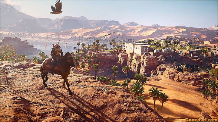 بنچمارک بازی Assassin's Creed Origins