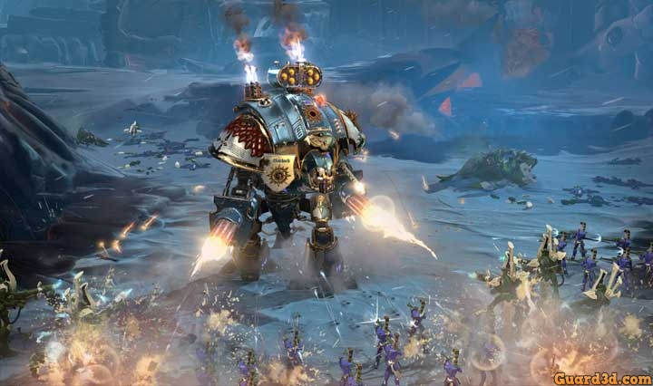 بنچمارک بازی Warhammer 40,000 Dawn of War 3